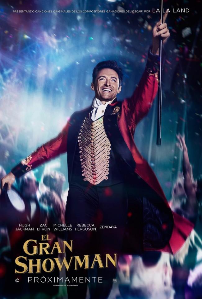 El Gran Showman (estreno)