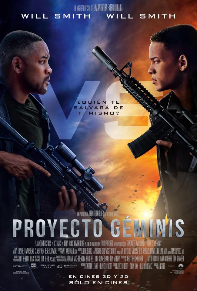 Proyecto Géminis (estreno)